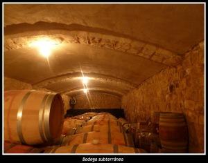 The underground cellar.