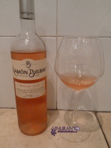 Ramon Bilbao Rosé 2012, the new wine of this winery from Rioja.