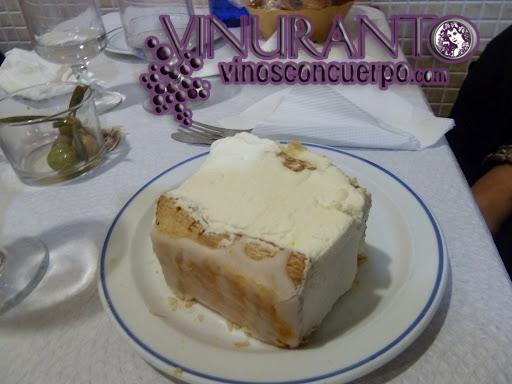 """""""Milhojas"""" Dessert at Restaurante El Levante."""