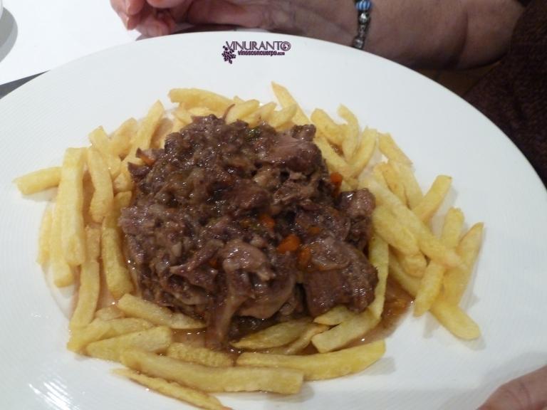 Delicious meall at La Reserva de Antonio.