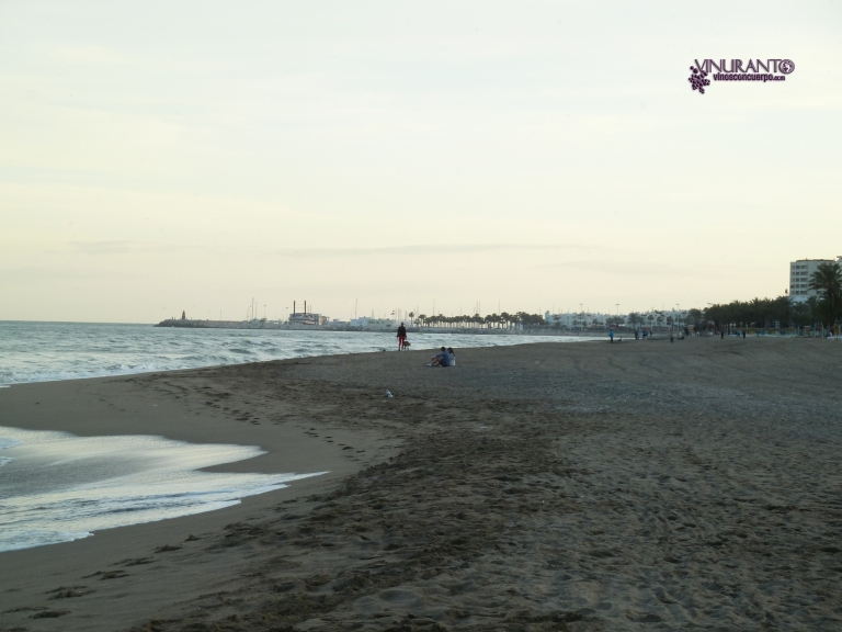 La Carihuela Beach. Torremolinos