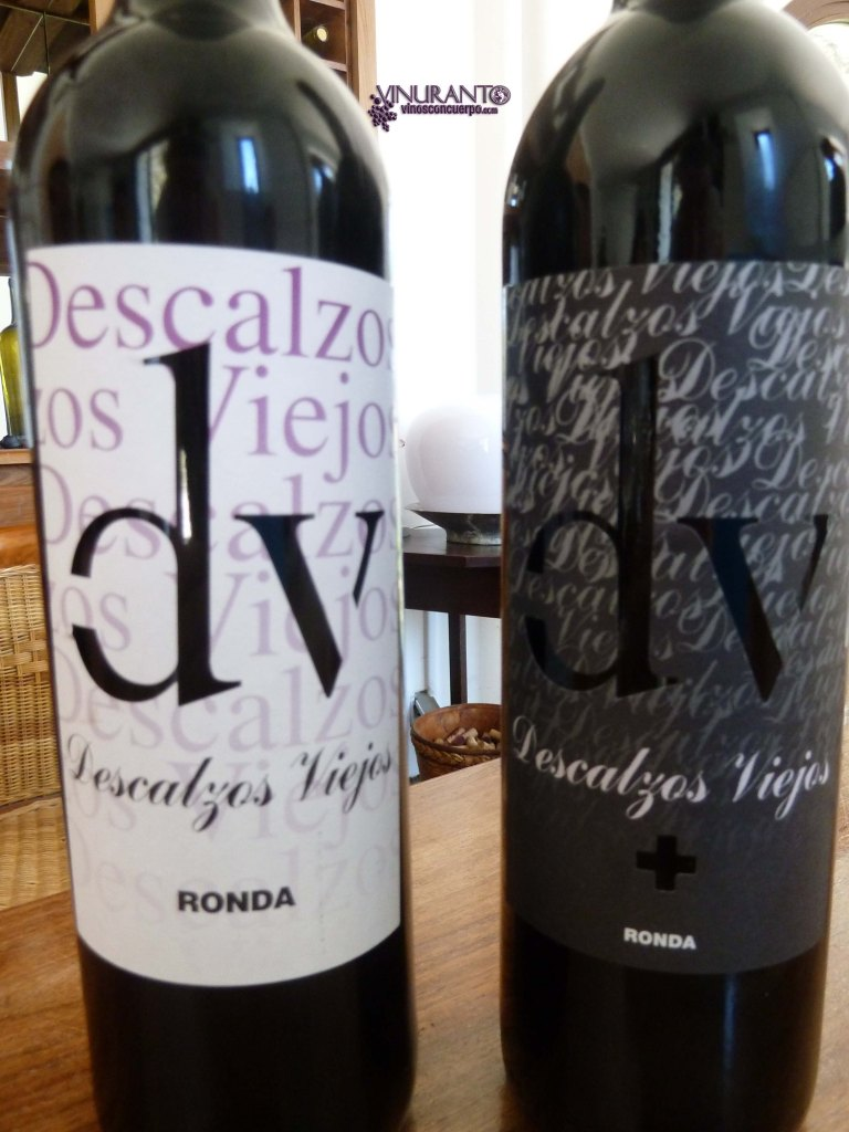 Two of DV's wines. Red wines.