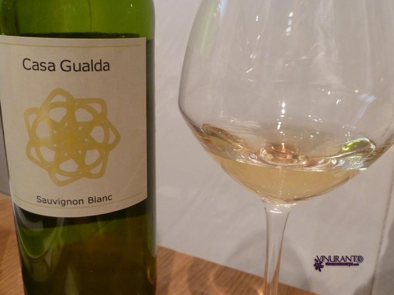 Casa Gualda Sauvignon Blanc 2010.
