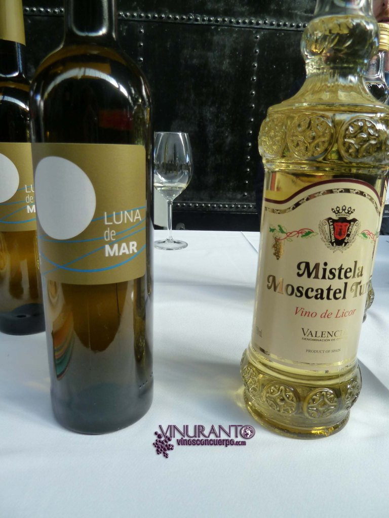 Luna de Mar (Moscatel) and Mistela Liquor Wine (Moscatel)