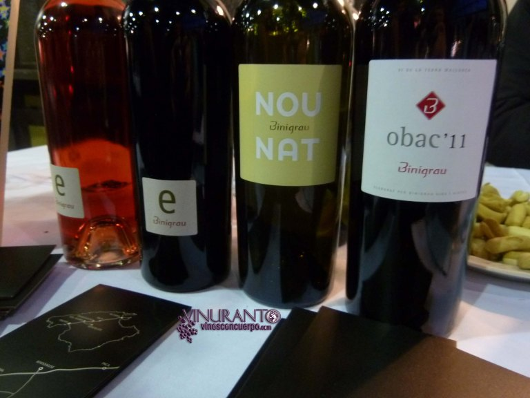 Binigrau wines from Mallorca.