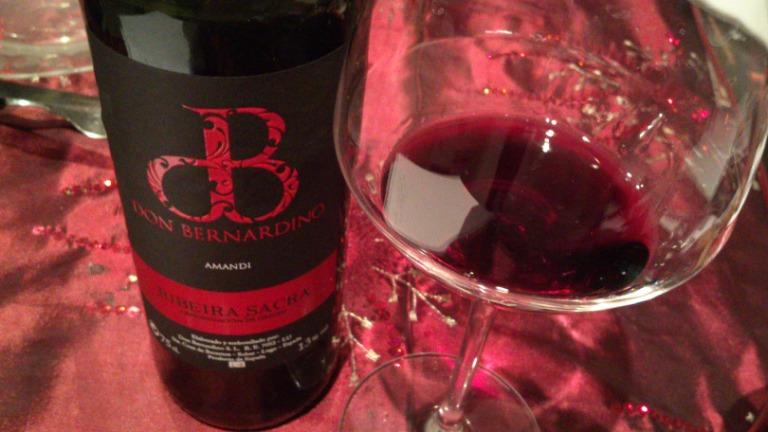 Young red wine. Don Bernardino. D.O. RIbeira Sacra