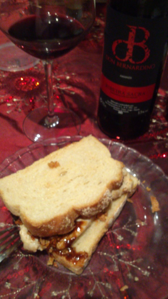 Chicken sandwich. Delicious.