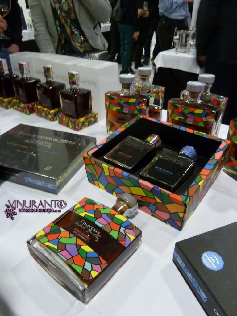 Colección Roberto Amillo. Brandy from Jerez.