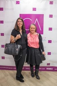 Nuria (left) and Virginia (right) (aka Spanish Wine Sisters) © Dibea Creativos, Beatriz Tudanca