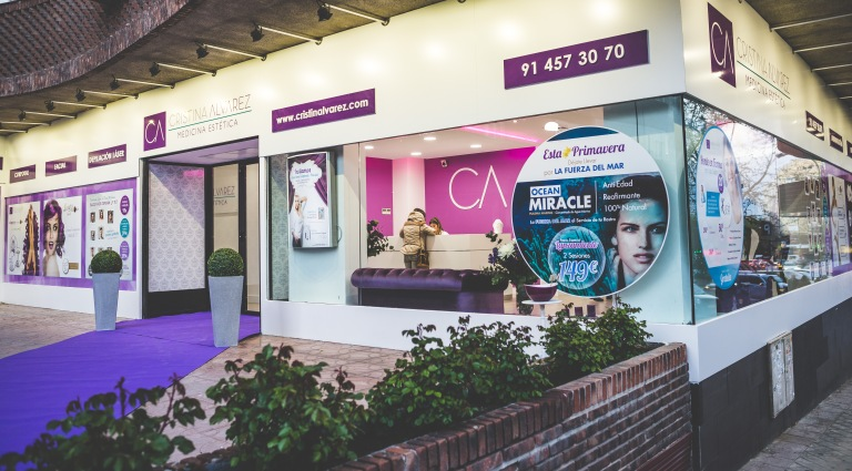 Cristina Alvarez Beauty shop in Madrid (Potosí,7). ©Dibea Creativos, Beatriz Tudanca