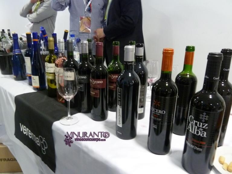 Ramón Bilbao, Cruz de Alba and Mar de Frades wines.