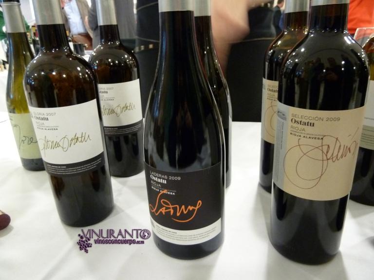 Ostatu Wines from Rioja.