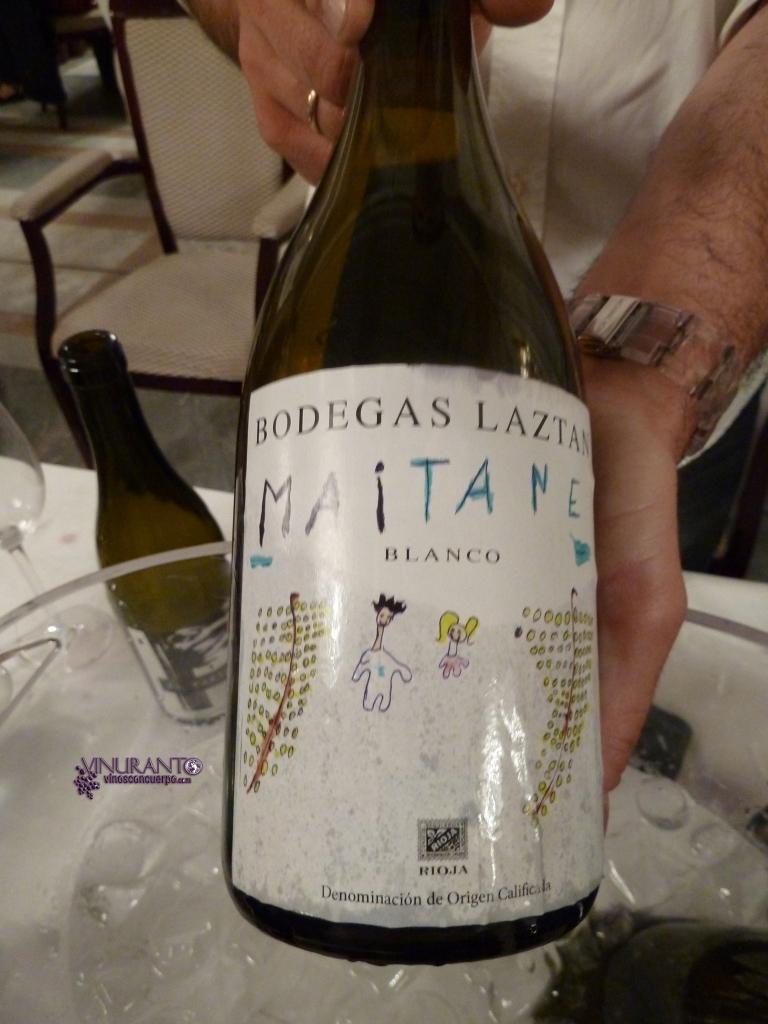 Maitane. 100% Viura. D.O. Rioja.