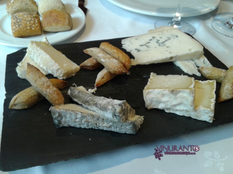 Cheese Selection. Torreblanca Restaurant (Gudarrama, Madrid-Spain)
