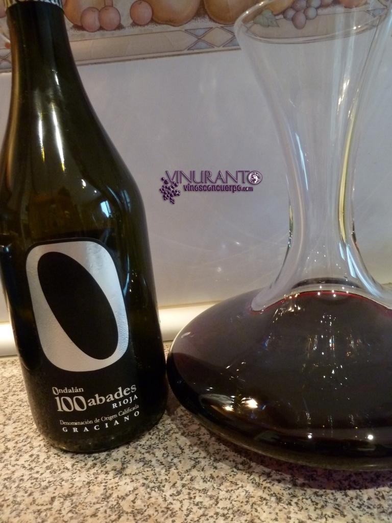 100 Abades. 100% Graciano. D.O.Ca. Rioja. Spain