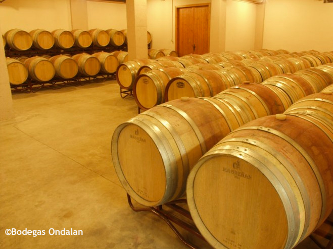 They buy new barrels each year. A hard selection to produce their wines