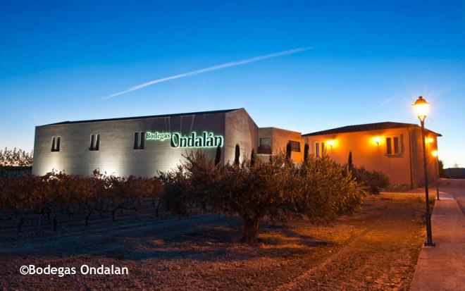 Wine Cellar Ondalan, Spain.