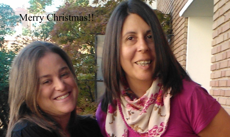 The Spanish Wine Sisters wish you a Merry Christmas 2014.