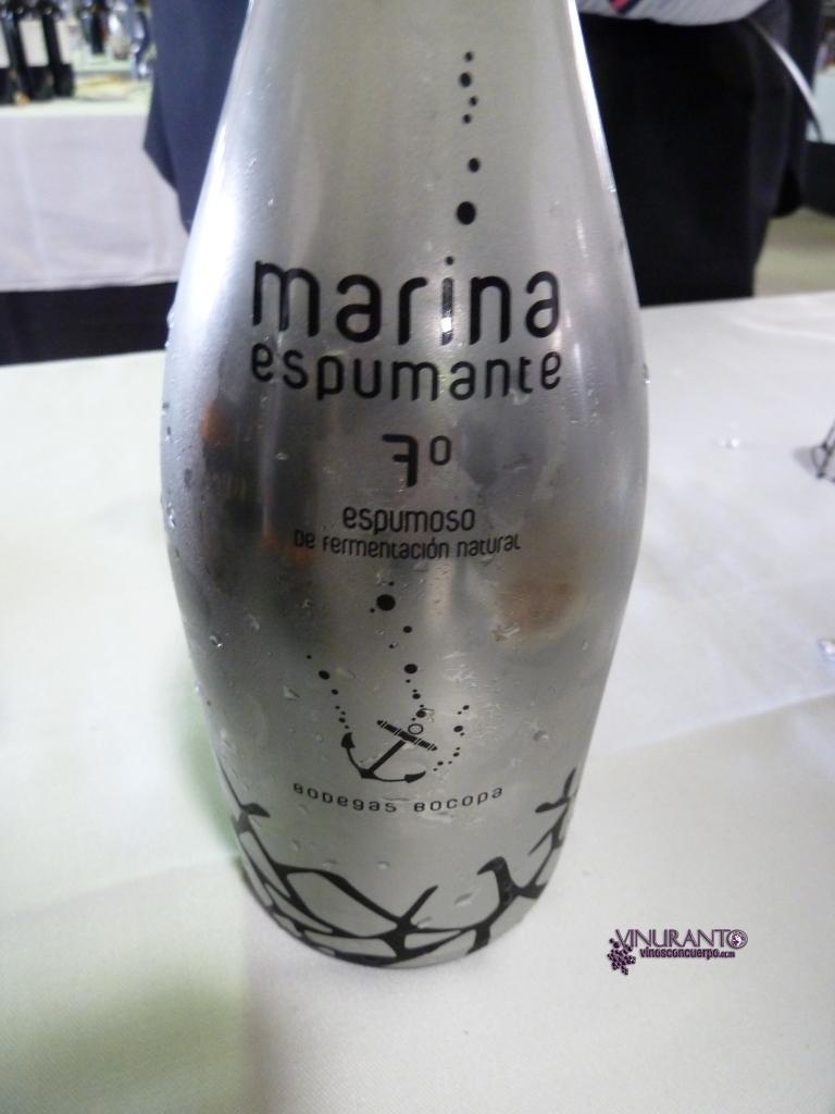 Marina Espumante sparkling wine. D.O. Alicante