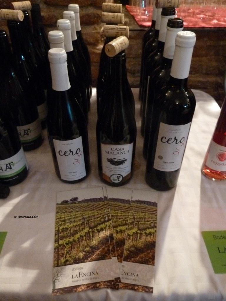 Natural and byodinamic wines. La Encina.