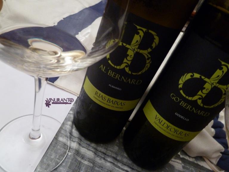 Go' Bernard y Al' Bernard. Godello y albariño de Galicia. Classy and delicious