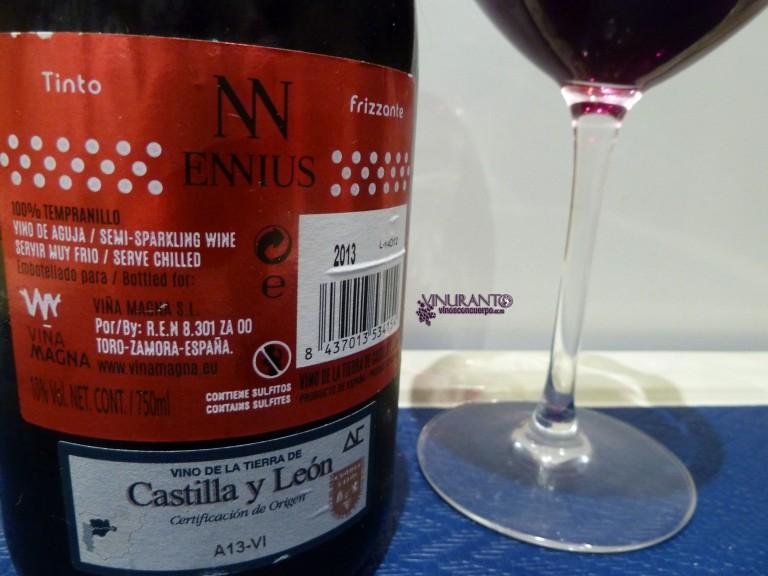 Black label for Ennius Red.
