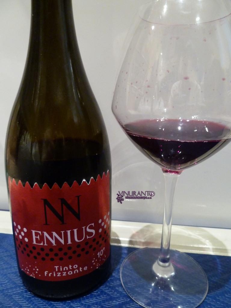 Ennius Red. Frizzante wine. Vino de la Tierra de Castillya y León
