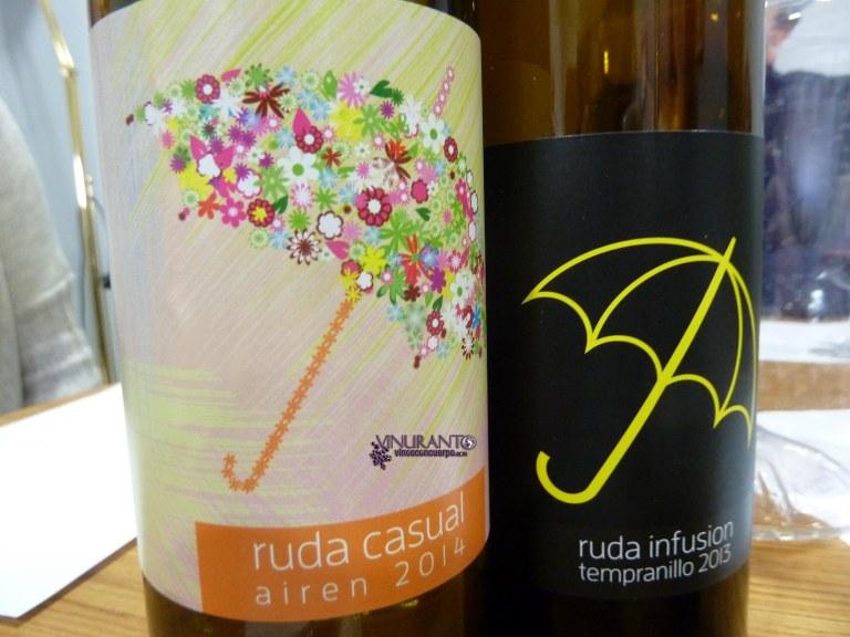 Ruda Casual and Infusión.
