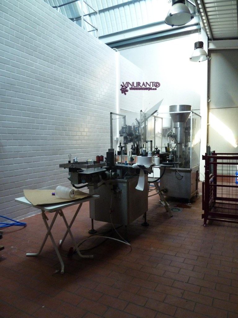 Inside the winery