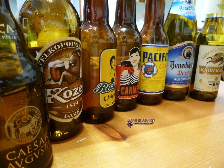 Handcrafted beers.