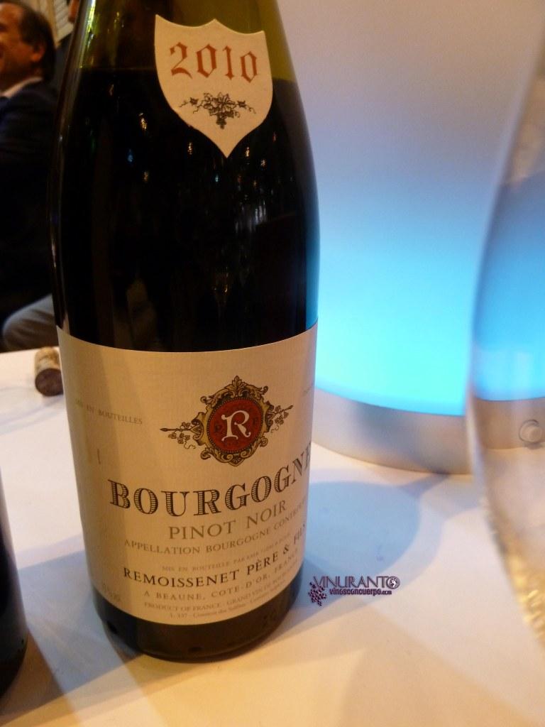 Borgogne Pinot Noir. 2010. France.