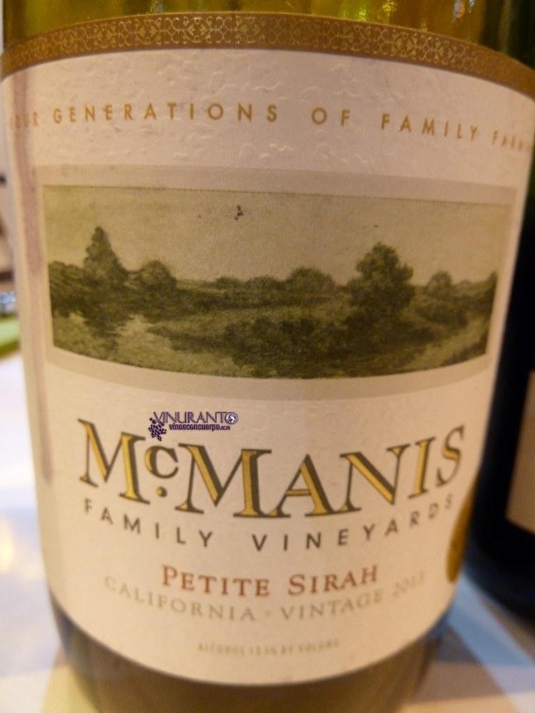 McManis Petite Syrah. California – USA