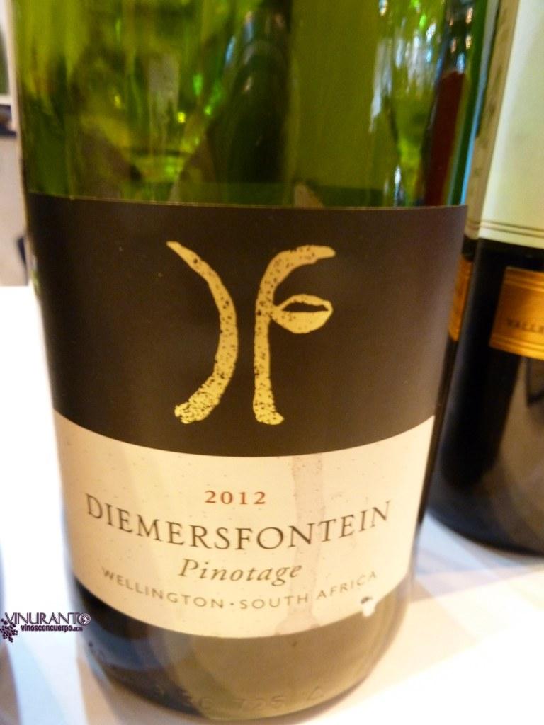 Diemersfontein. Pinotage. South Africa. 2012.