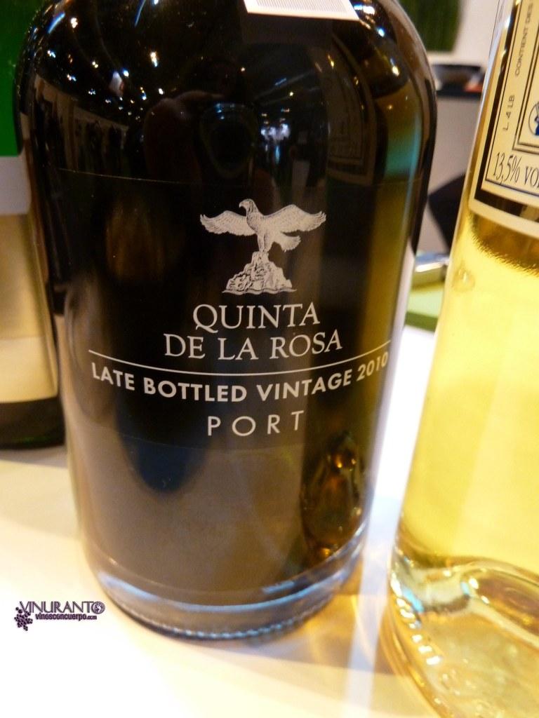 Quinta de la Rosa. LBV 4 years of aging.