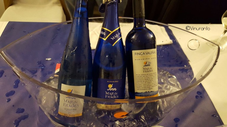 D.O. Rías Baixas 100% Albariño from Mar de Frades Winery.