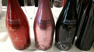 Sparkling wines, Marina Espumante from Alicante.