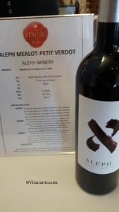 Aleph Winery. Petit Verdot Medal